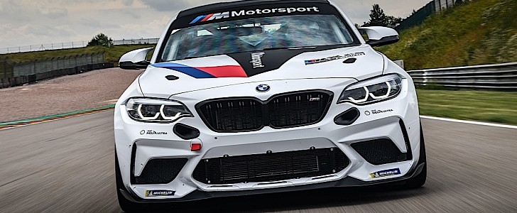 BMW M2 CS Racing Track Close-Ups Are the Perfect Way to Wrap the Weekend - autoevolution