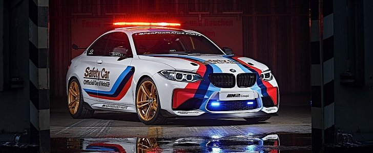 BMW M2 Is the Safety Car for the 2016 MotoGP Season, and It Looks Fabulous - autoevolution