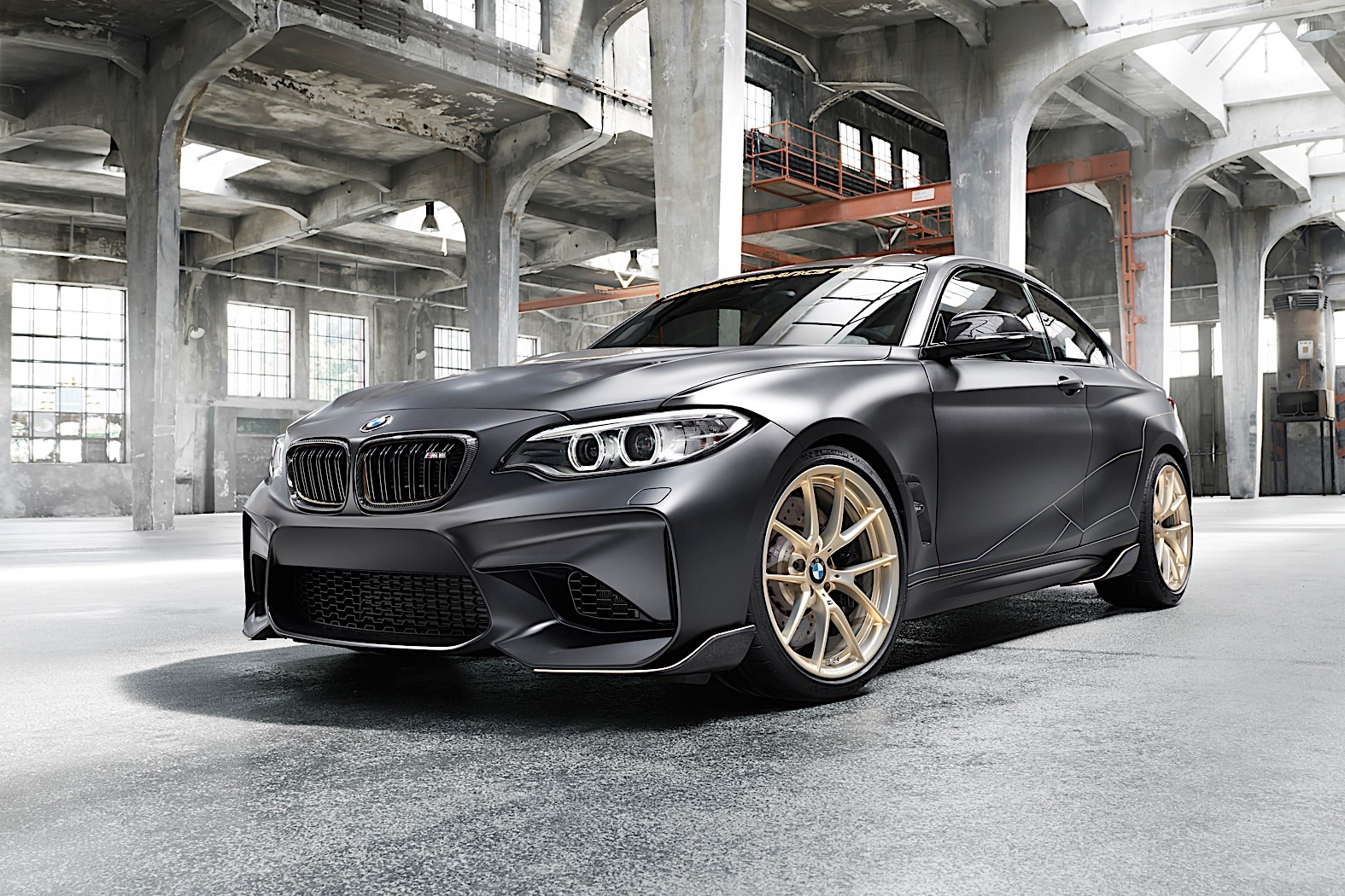 bmw m2 m performance parts concept brings muscle to. Black Bedroom Furniture Sets. Home Design Ideas