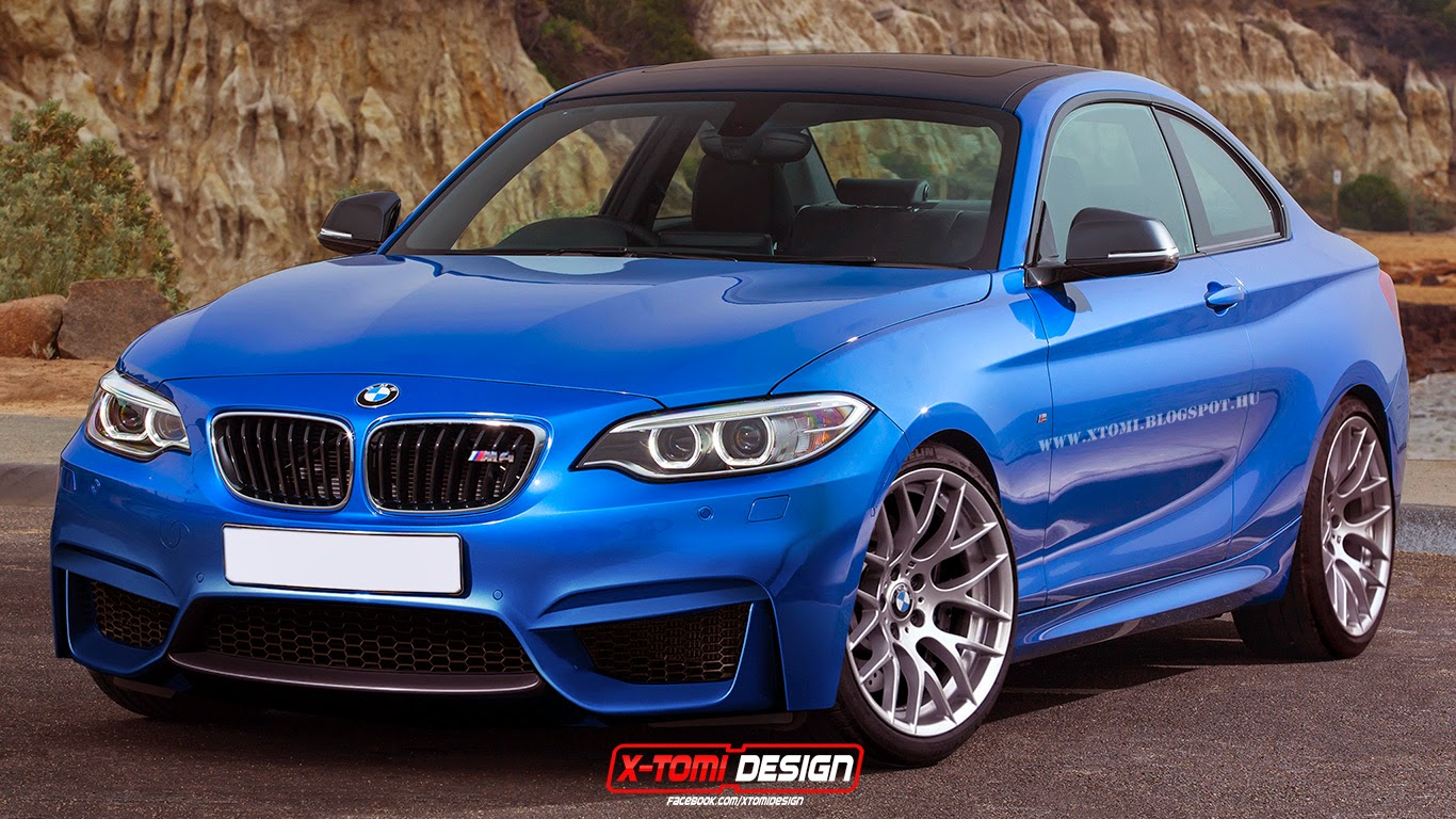 BMW M2 Rendered in Estoril Blue - autoevolution