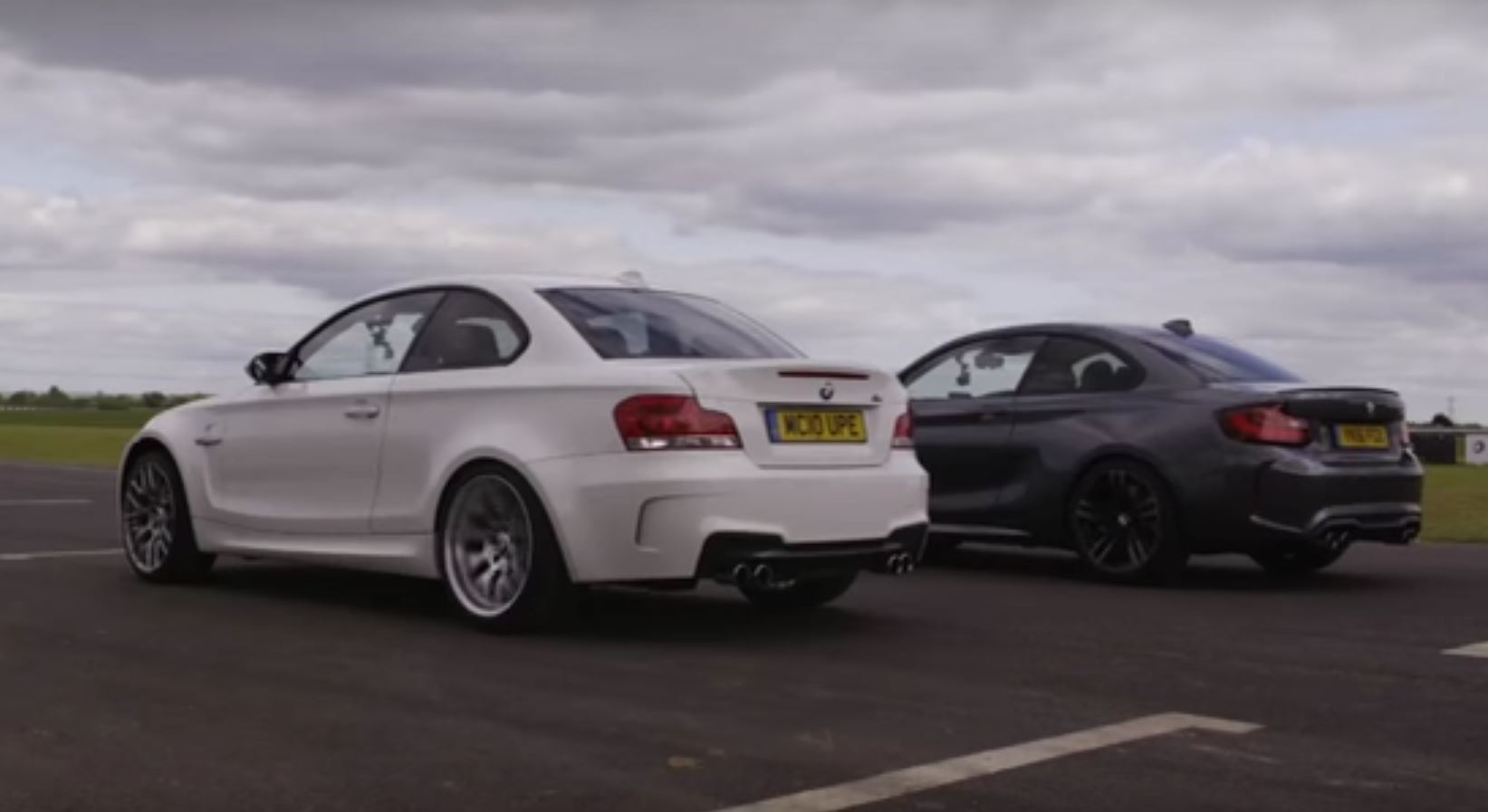 BMW M2 vs. 1M Coupe Comparison Includes the Obligatory Drag Race - autoevolution