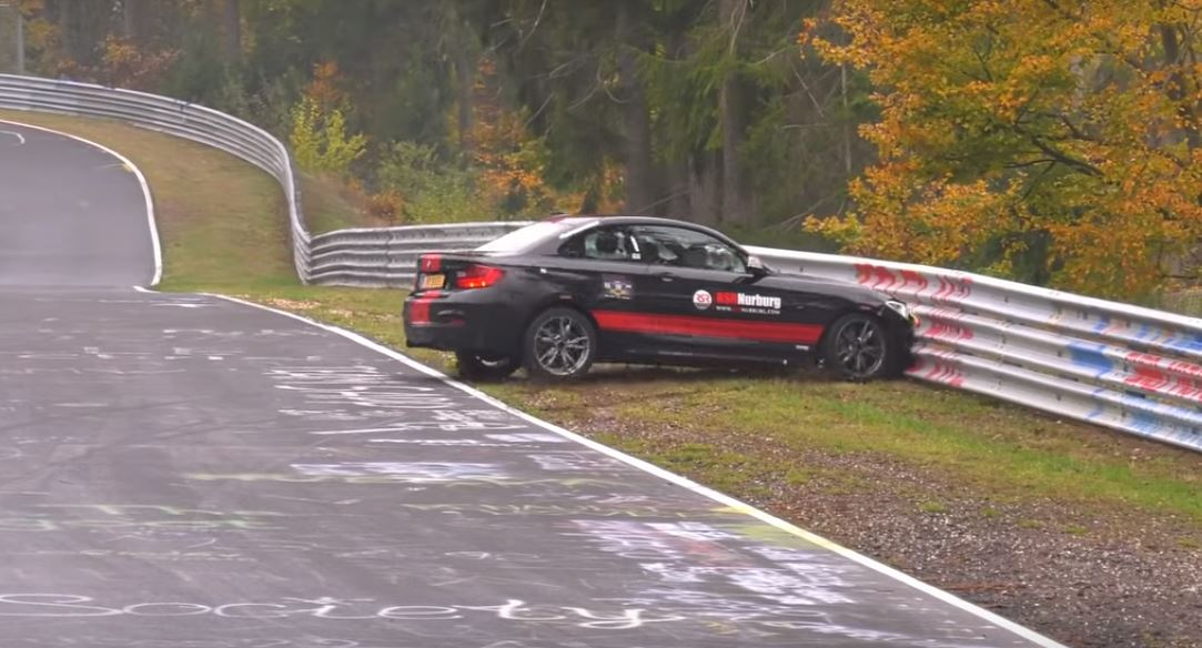 BMW M235i Nurburgring Crash Is An Expensive Driving Lesson