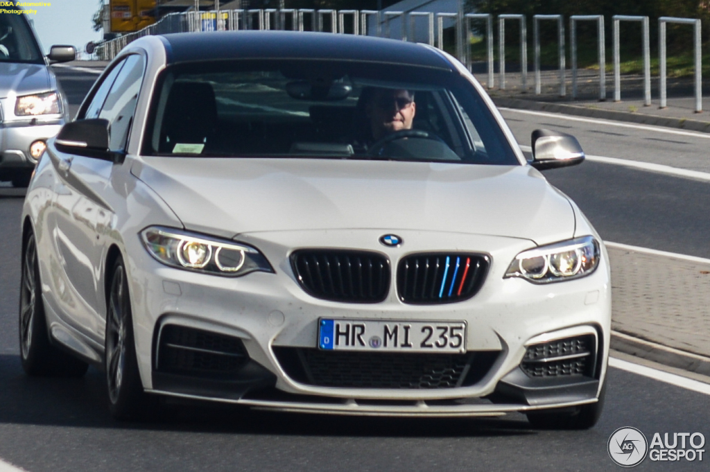 Bmw M235i Track Edition Spotted In Germany Autoevolution
