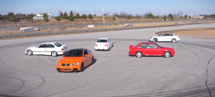 BMW M3: 28 Years of Evolution [Video]