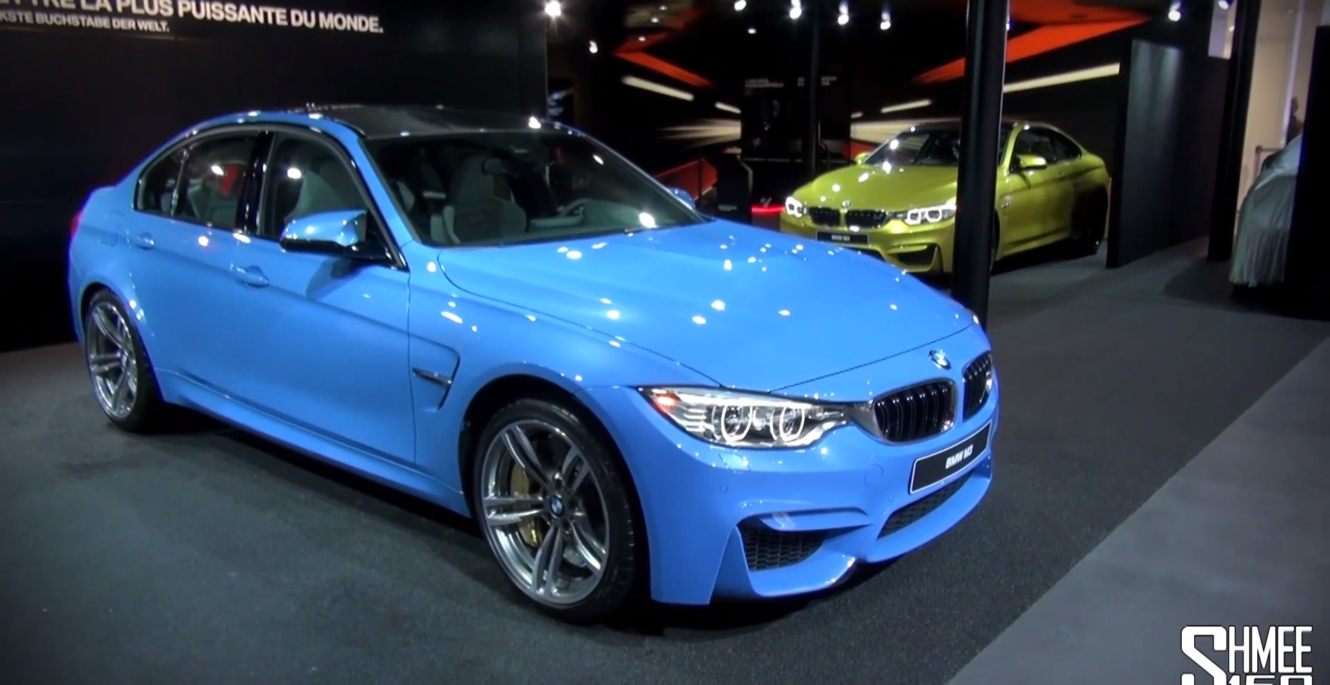 Bmw M3 And M4 Up Close At Geneva Autoevolution
