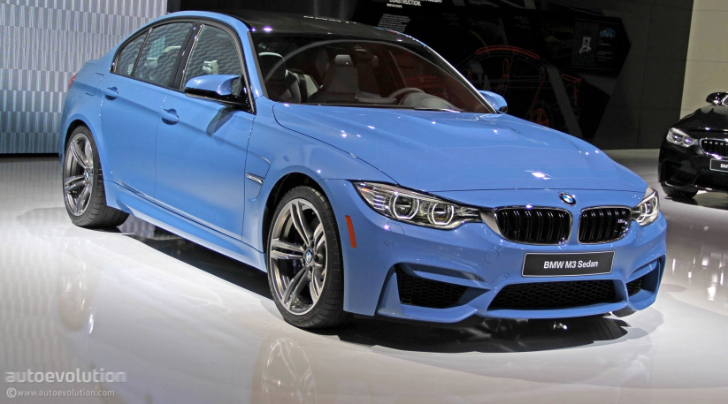 BMW M Bows At Detroit Ready To Obliterate The Mustang Live - 2015 bmw m3 price