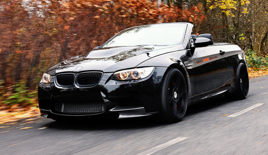 Bmw M3 Convertible >> Bmw M3 Convertible By Manhart With Tuned X6 M Engine Autoevolution