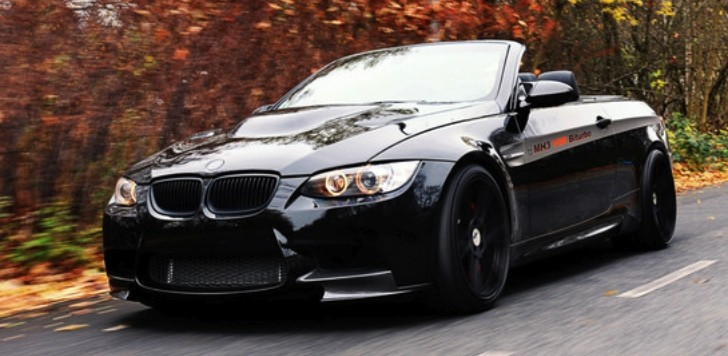 BMW M3 Convertible by Manhart with Tuned X6 M Engine