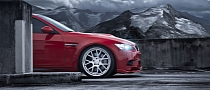 BMW M3 Coupe on Machined Vossen Wheels [Photo Gallery]