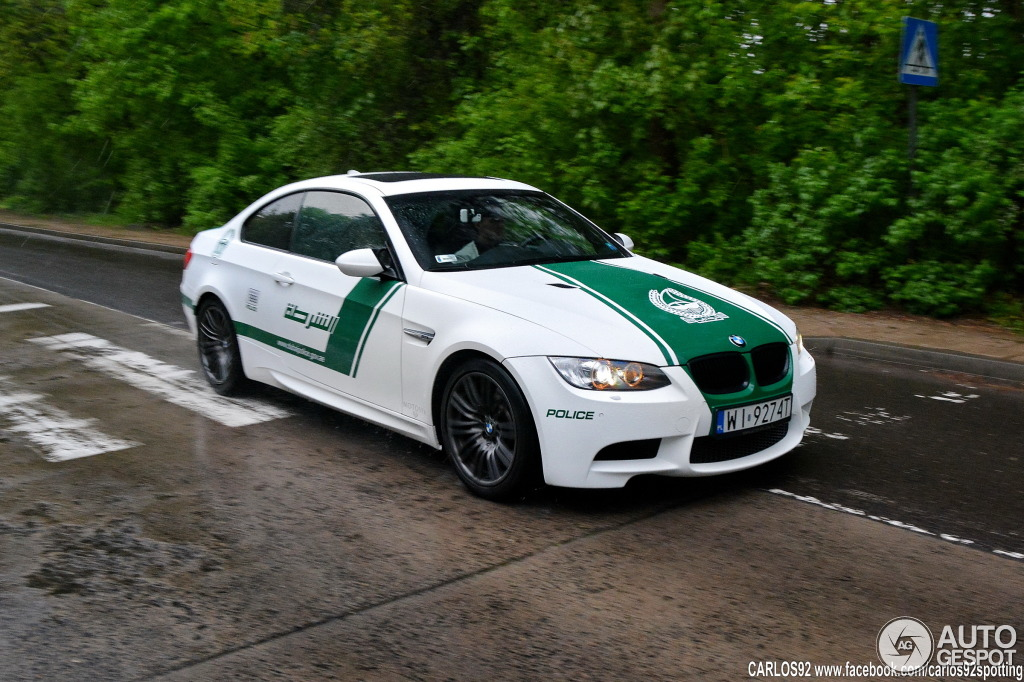 BMW M3 Dubai Police Car Spotted in Poland [Photo Gallery]