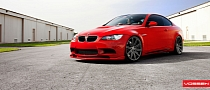 BMW M3 Gets Awesome Wheel Swap from Vossen [Photo Gallery]