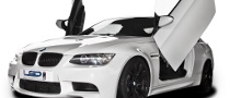 BMW M3 Is on LSD, Gets Lambo Doors