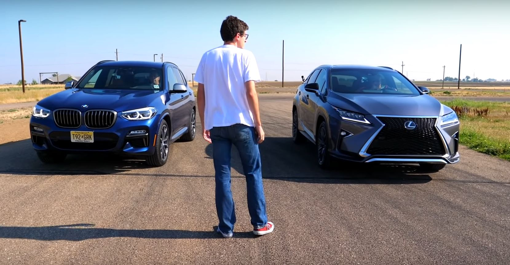 Bmw M3 M40i Vs Lexus Rx 350 Is Pointless Includes A Drag Race