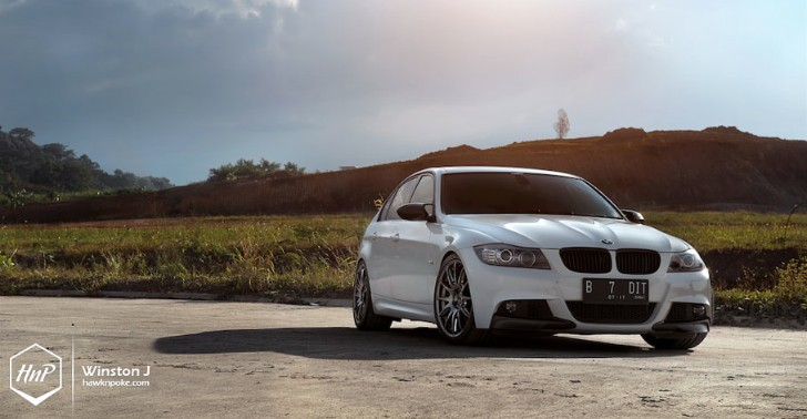 BMW M3 on Volk Wheels Look Great without Trying Too Hard [Photo Gallery]