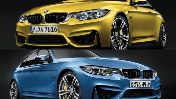 BMW M3 Sedan and M4 Coupe Officially Unveiled [Photo Gallery]