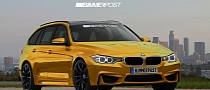 BMW M3 Touring Rendering: What If? [Photo Gallery]