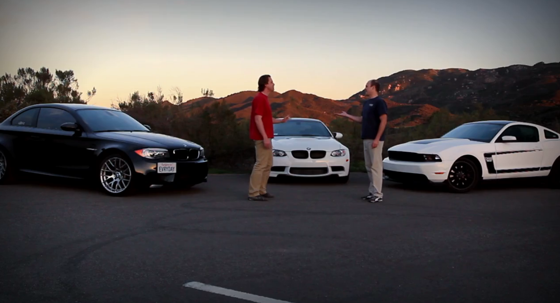 Bmw M3 Vs Bmw 1m Vs Mustang Boss 302 By Everyday Driver