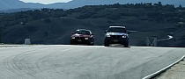 BMW M3 vs X5M on Laguna Seca: Official Video