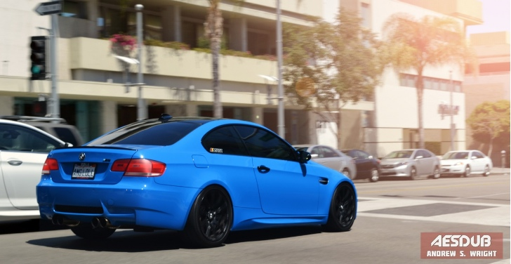 "BMW M3 Wears ""AMG LOL"" Vanity Plate"