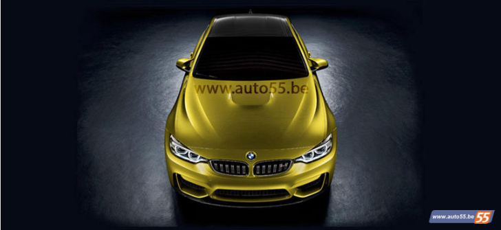 BMW M4 Concept Photo Leaked