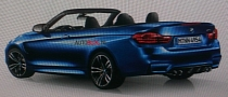 BMW M4 Convertible Image Leaks