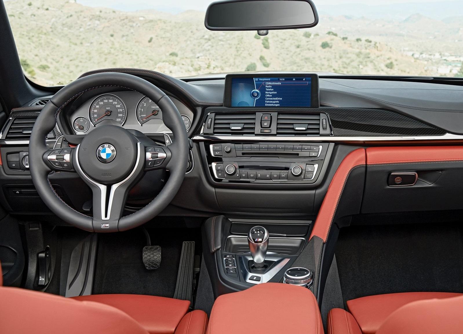 BMW M Convertible Interior Design In Detail Autoevolution - 2015 bmw m4 convertible price
