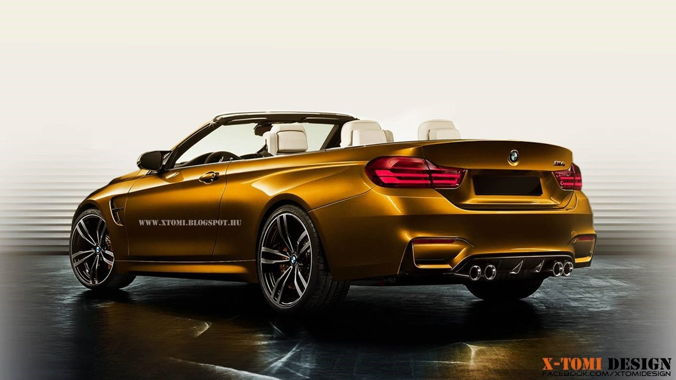 Bmw m4 convertible rendering