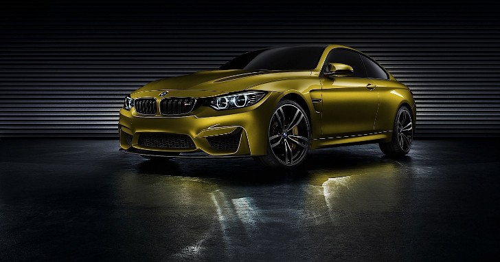 BMW M4 Coupe Concept Revealed at Pebble Beach [Photo Gallery]