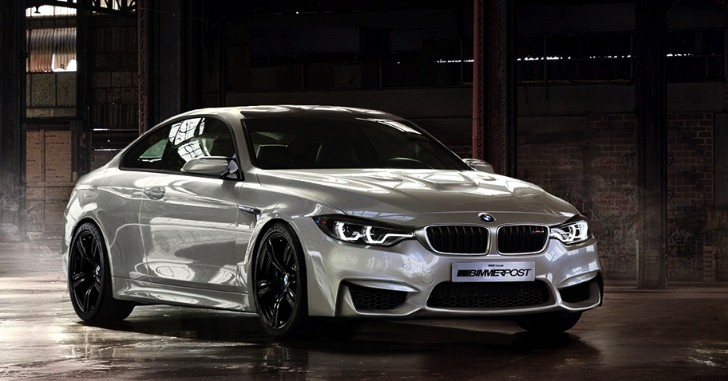 BMW M4 Coupe Gets Rendered