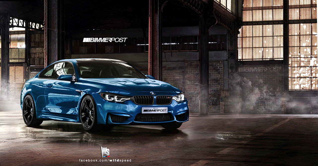 bmw m4 coupe gets rendered autoevolution. Black Bedroom Furniture Sets. Home Design Ideas