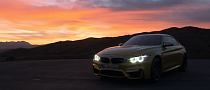 BMW M4 Coupe on the Track for the First Time [Video]