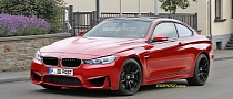 BMW M4 F82 Coupe Rendered
