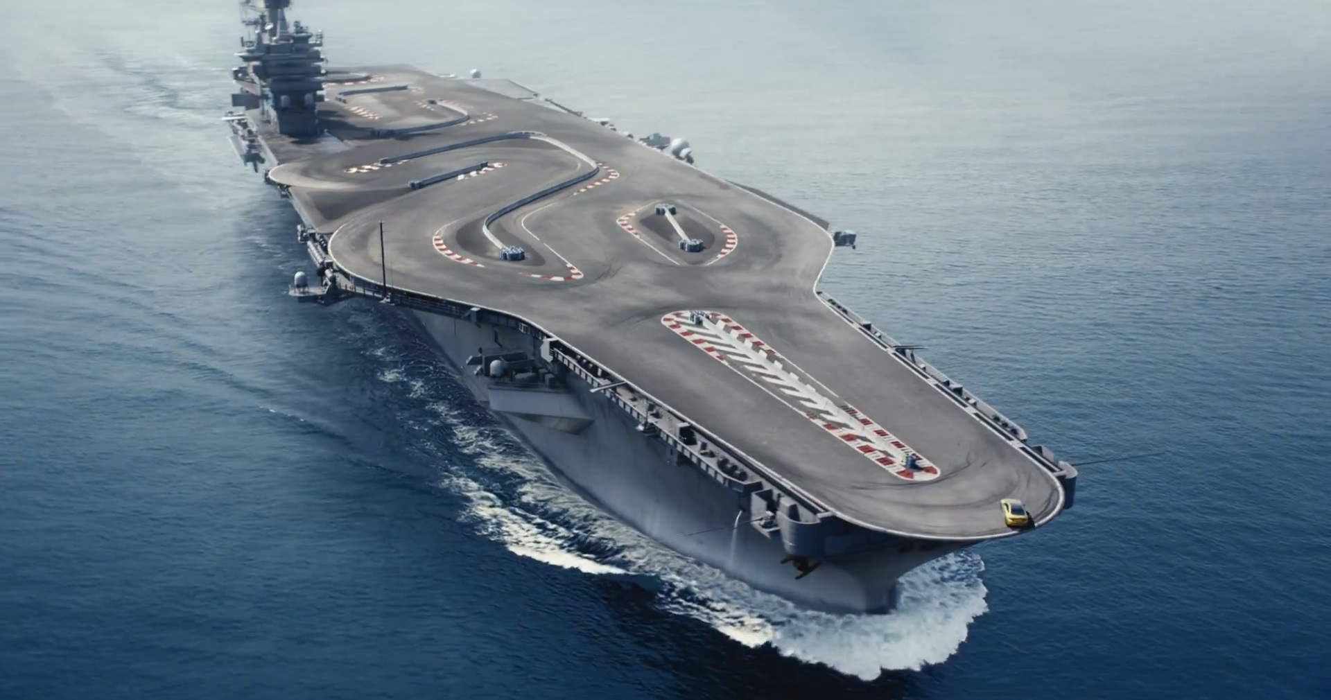 bmw m4 goes racing on an aircraft carrier in latest commercial autoevolution. Black Bedroom Furniture Sets. Home Design Ideas