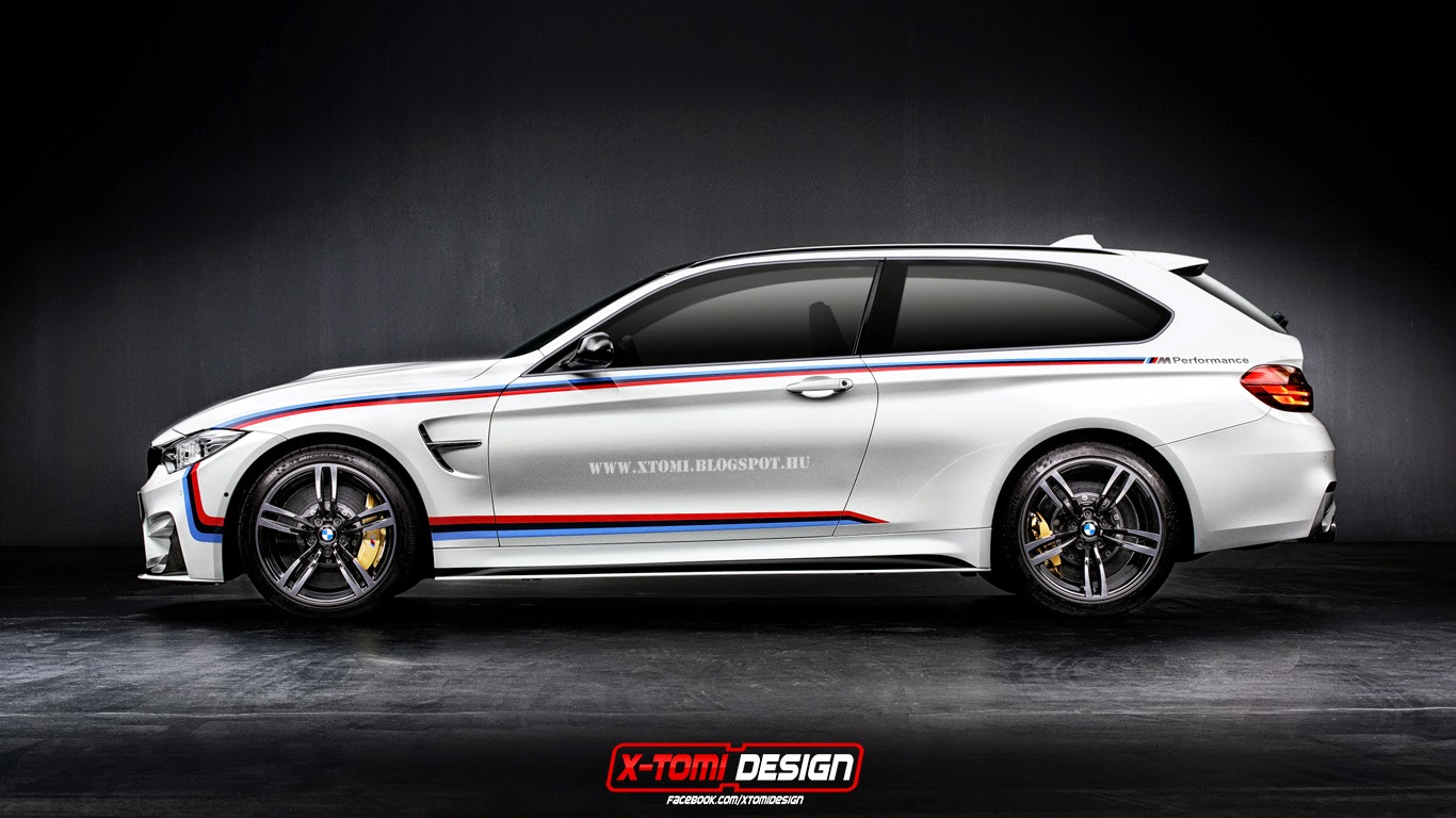 Bmw M4 Rendered As A Shooting Brake Autoevolution