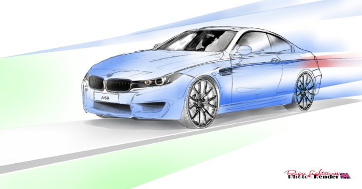 BMW M4 Rendering Released