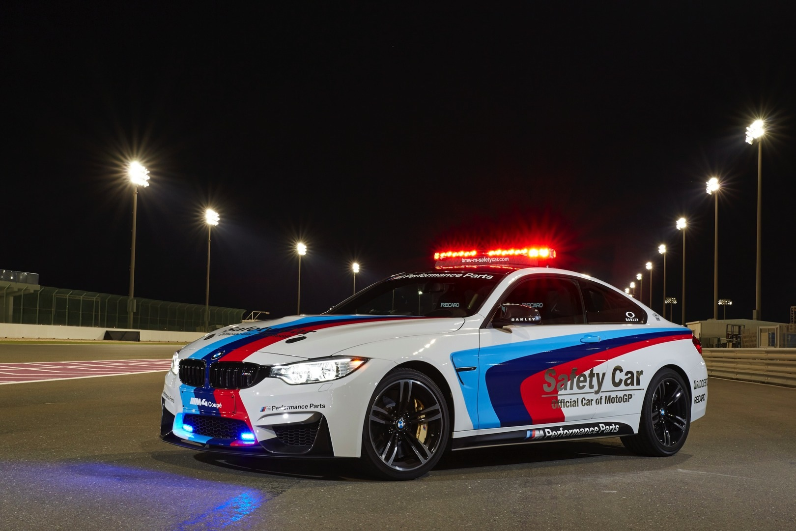 bmw m4 safety car debuts in motogp at qatar grand prix. Black Bedroom Furniture Sets. Home Design Ideas