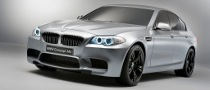 BMW M5 Concept Car Unveiled [Gallery]