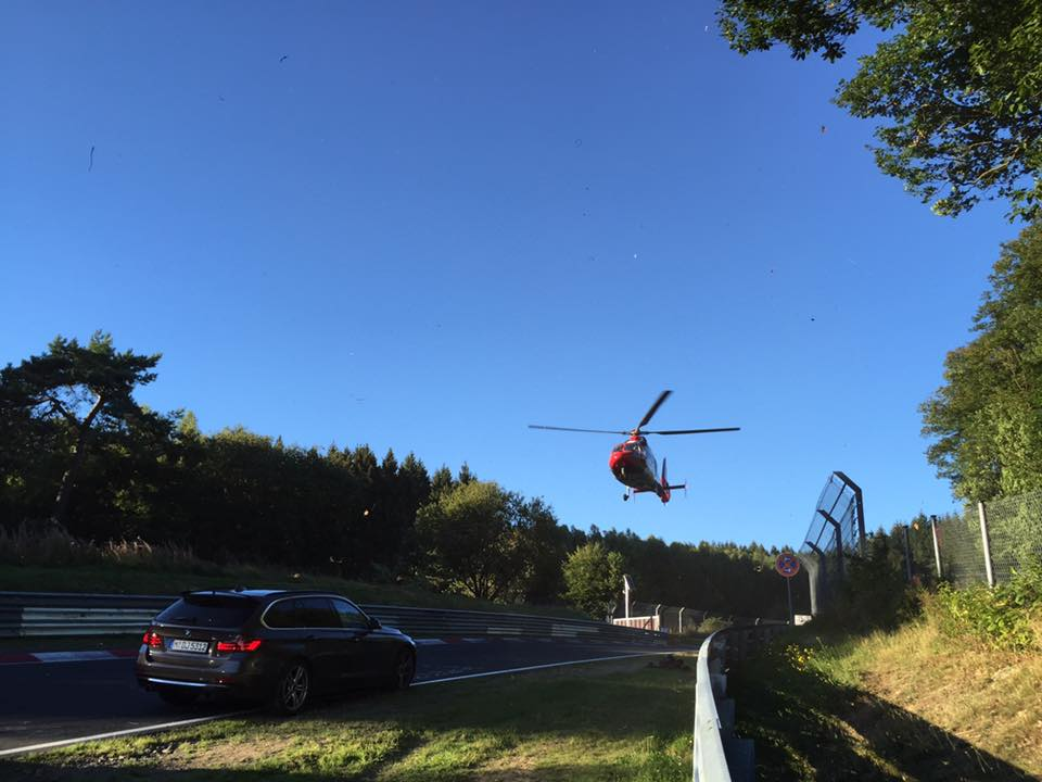 BMW M5 Coolant Leak Linked to 5-Vehicle Nurburgring Crash