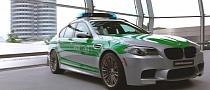 BMW M5 F10 Becomes a Police Car