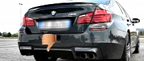 BMW M5 F10 Driven Hard - Good or Bad Exhaust Note? [Video]