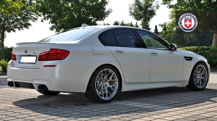 BMW M5 F10 on HRE Wheels Teased