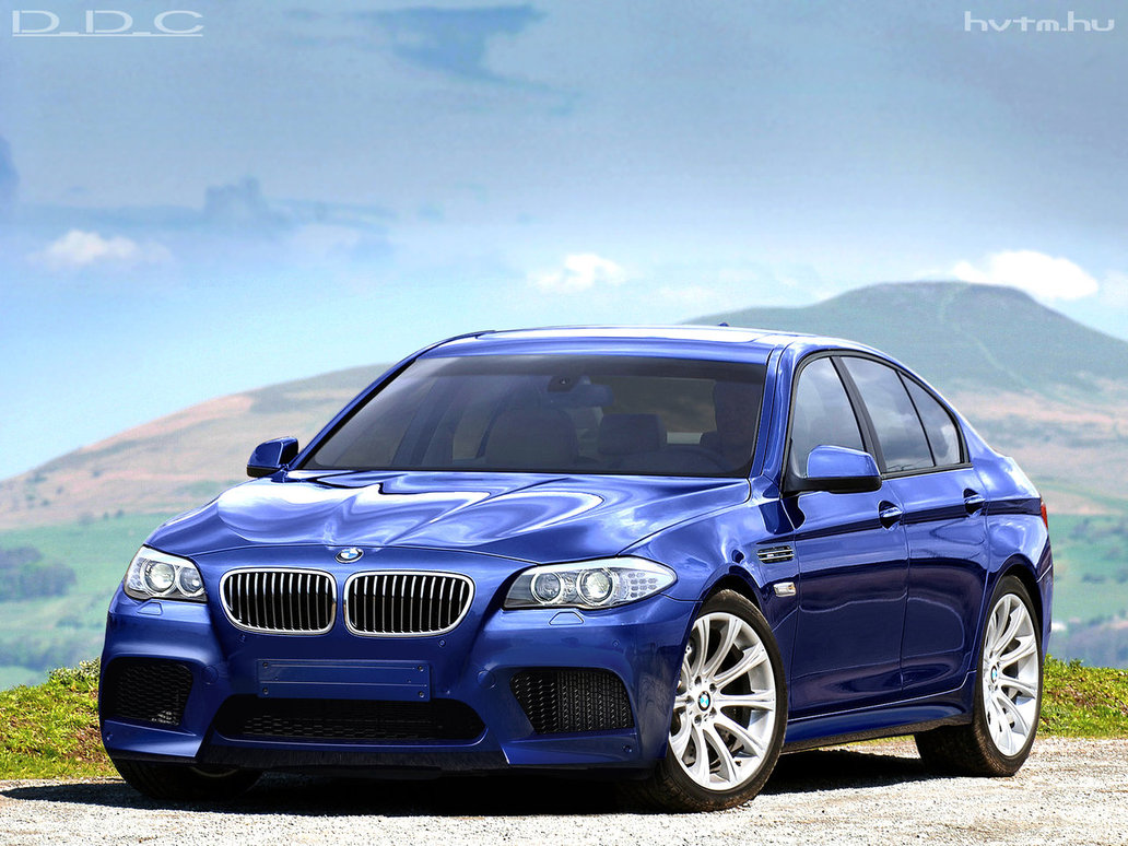 bmw m5 f10 rendering released autoevolution. Black Bedroom Furniture Sets. Home Design Ideas