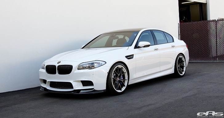 BMW M5 on HRE Wheels Looks Like an Early 1920s Gangster [Photo Gallery]