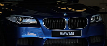 BMW M5 Takes on Laguna Seca for US Debut [Video]