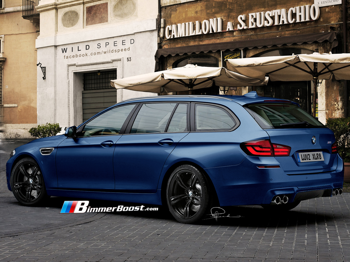 Bmw M5 Touring Rendered To Perfection Autoevolution