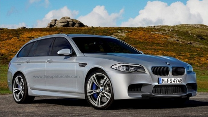 BMW M5 Touring Rendering Released
