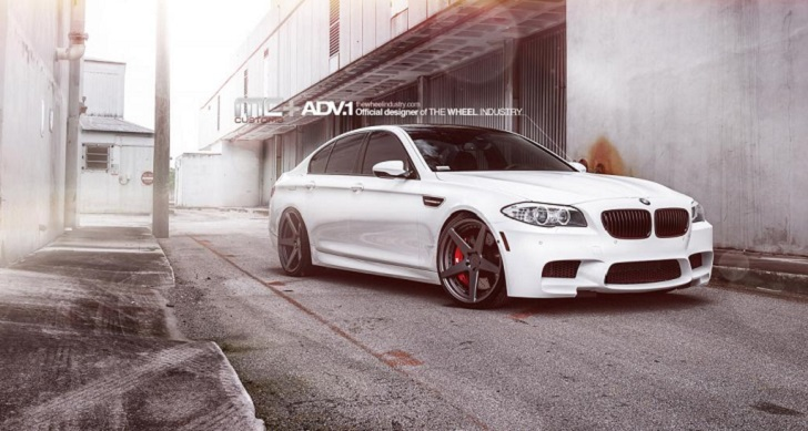 BMW M5 with ADV.1 Wheels Shows You How to Look Good Without Trying too Hard [Photo Gallery]