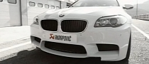 BMW M5 with Akrapovic Exhaust Destroys the Silence [Video]