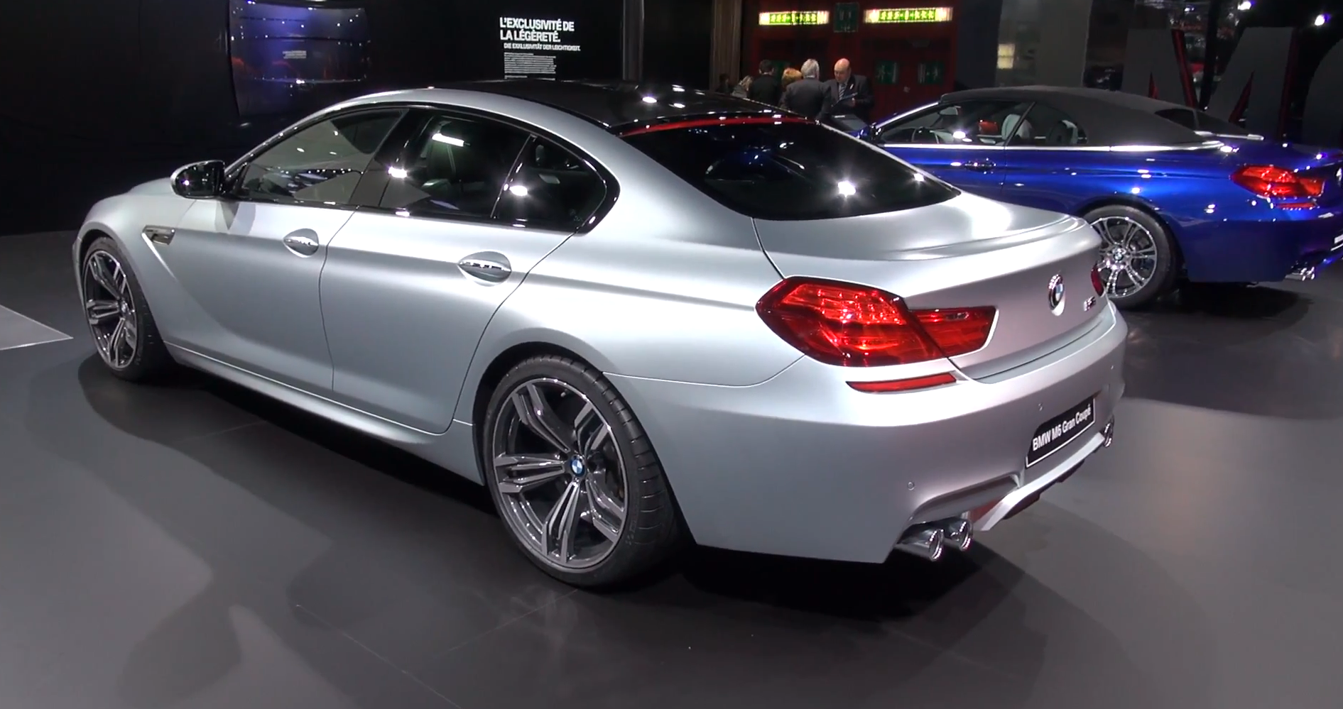 bmw m6 gran coupe in detail at geneva 2013 autoevolution. Black Bedroom Furniture Sets. Home Design Ideas