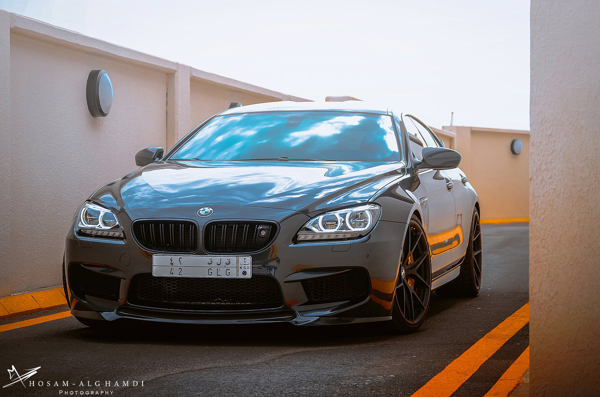 Bmw M6 Gran Coupe Looks Fresh On Hre Wheels Autoevolution